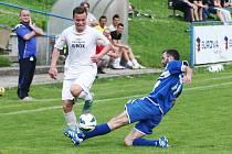 Nečekanou porážku utrpěly na domácím hřišti Doksy. Fotbalisté Hrádku porazili druhý tým krajského přeboru 5:2.