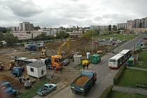 Čilý ruch na staveništi SPARU