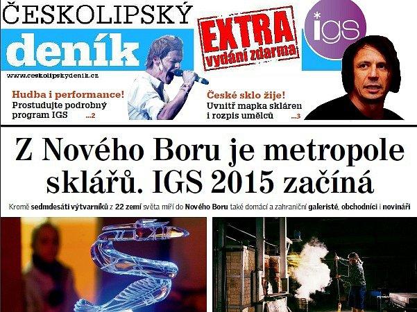 Sobotní vydání Českolipského deníku bude bohatší o speciální přílohu.