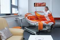 Porod jako doma, takovou atmosférou působí nový v pořadí již druhý rodičovský pokoj v českolipské nemocnici.