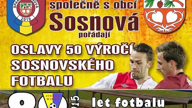 Dva fotbalové kluby z Českolipska ve stejný den, v sobotu 20. června, připravují oslavy u příležitosti kulatého výročí od založení fotbalu.