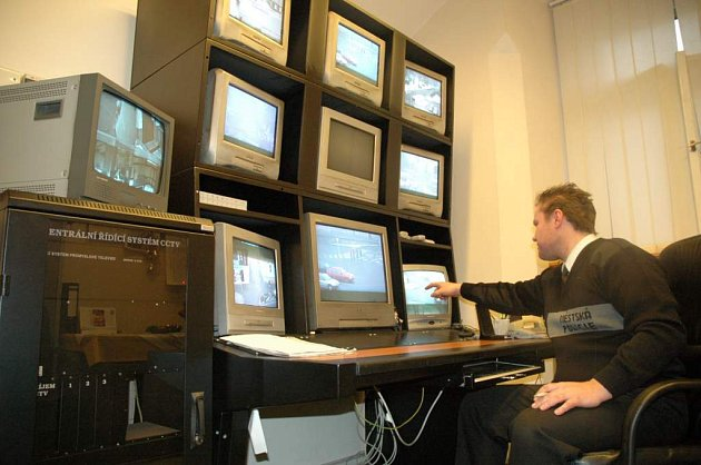 Kamerový systém v Novém Boru