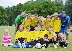 Mimoňské fotbalové naděje nastřílely za sezonu o 114 branek víc než druhá Horní Libchava a okresní přebor vyhrály s náskokem čtrnácti bodů.