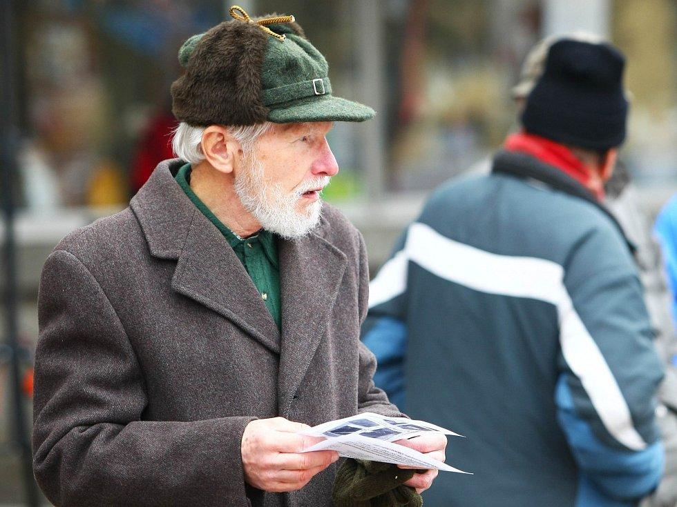 Lidé vyjadřovali svůj názor na možnou podobu historického centra České Lípy v anketě proti novému územnímu plánu.