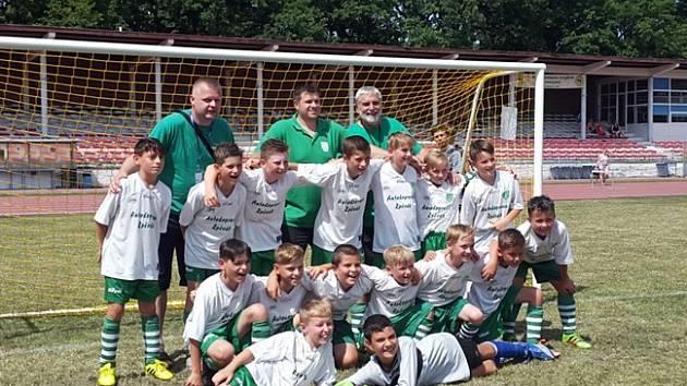 Starší přípravka FC Nový Bor se na turnaji v Polsku neztratila.
