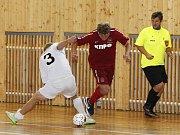 Brankář Ondřej Čejchan nastartoval svůj tým chycenou penaltou za nerozhodného stavu 3:3.
