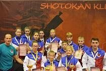 Karate klub Sport Relax Česká Lípa pod vedením trenéra Pavla Znamenáčka měl na již 47. ročníku Grand Prix North Bohemia své svěřence, kteří v konkurenci 360 závodníků zaznamenali velký medailový úspěch.