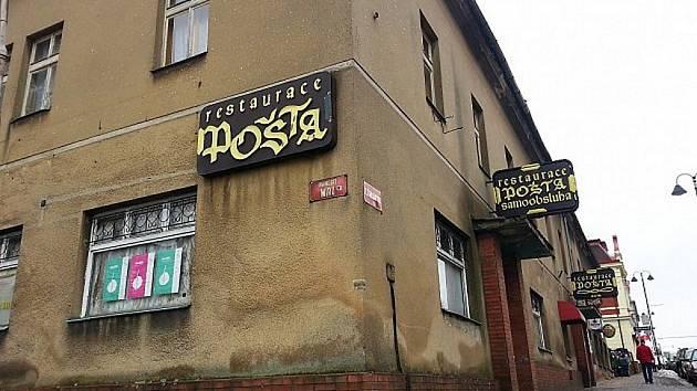 Bývalá restaurace Pošta.