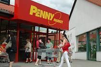 Znovuotevřený Penny market v České Lípě.