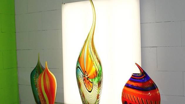 V Novém Boru proběhla akce Skleněná zahrada Giardino di vetro, která představila díla umělců z Mekky skla, italských Benátek a zdejšího souostroví Murano.