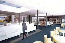 Budoucnost pro čtenáře v České Lípě jak si ji představuje trojice libereckých architektů, jež zpracovala studii nové městské knihovny v KD Crystal.