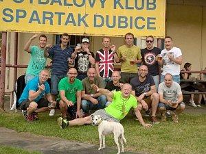 Fotbalisté dubického Spartaku se stali Okresními přeborníky Českolipska.