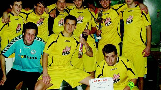 Vítězné mužstvo TTNF Liberec.