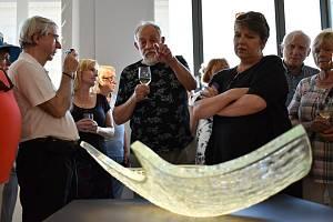 Sklářské muzeum v Novém Boru zažilo vůbec první dernisáž.
