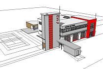 V Doksech u Máchova jezera bude stát nová stanice profesionálních hasičů.