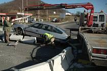 Nehoda na kruhovém objezdu