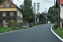 Silnice ve Svoru a Krompachu dostaly po povodních nový kabát.