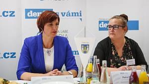 Moderovaná diskuze Setkání se starostkou České Lípy