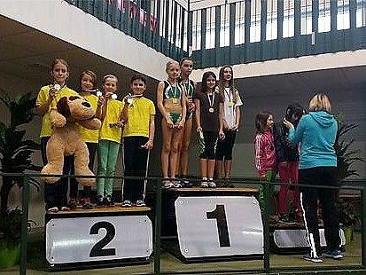 Mladí atleti z České Lípy si odvezli dvě sady medailí.