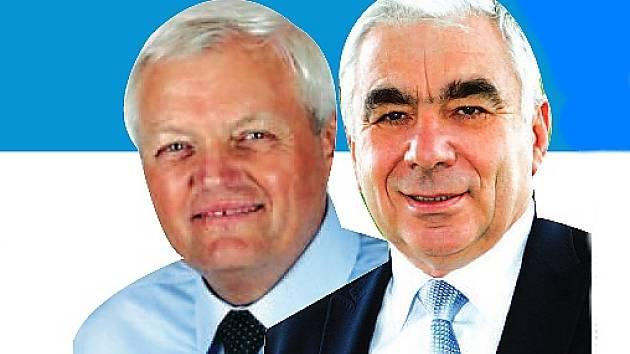 Senátorem za Českolipsko bude v příštích šesti letech Jiří Vosecký (SLK), nebo Karel Kapoun (ČSSD).