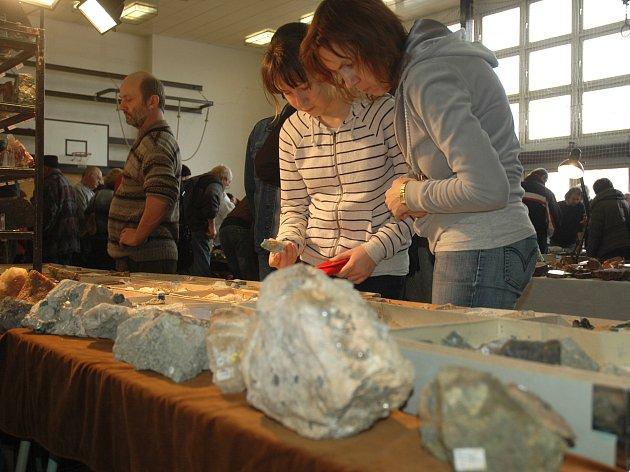 Setkání mineralogů se i letos těšilo hojné návštěvnosti.
