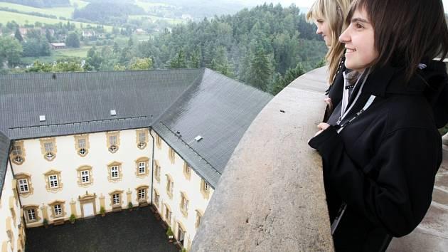Lemberk už tento víkend mimořádně zpřístupní věž.