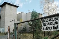 Těžba uranu v Hamru na Jezeře: budovy, které sloužily těžařům.
