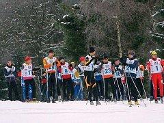 Při polevských závodech jde vždy o srandu a radost z lyžování.