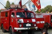 Do města se sjelo na třicet hasičských dobrovolných sborů a tisíce návštěvníků.