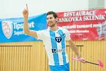 Radek Krajcigr zaznamenal v zápase s Vinohrady 7 bodů.