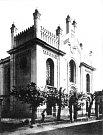 Českolipská synagoga v roce 1928.