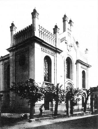 Českolipská synagoga vroce 1928.