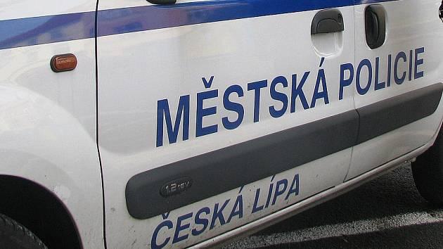 Městská policie v České Lípě.