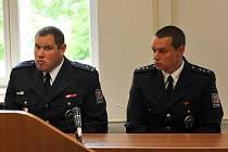 O údajném napadení,  jehož se měli dopustit dva českolipští policisté (na snímku) loni v lednu, rozhodne liberecký krajský soud.