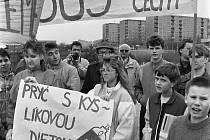 NOVÝ BOR. Životní prostředí a konkrétně špatné ovzduší bylo jedním z témat Listopadu 1989 na Českolipsku.