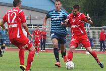 Arsenal porazil Pardubice 2:0.