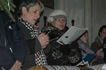 Zpívání koled v Kravařích.