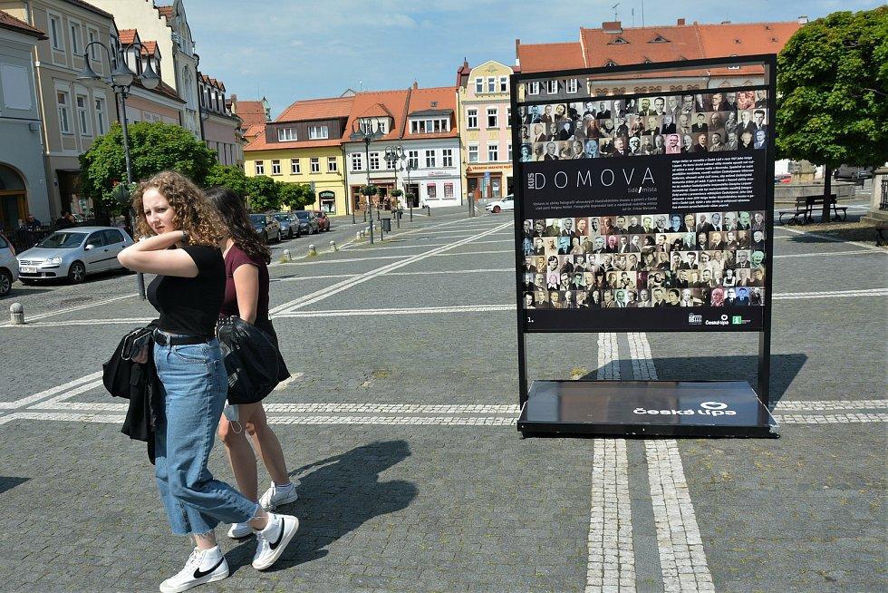 Výstava Lidé / Místa v České Lípě.