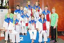 Karatisté Sport Relax předvedli v Ústí kvalitní výkony.