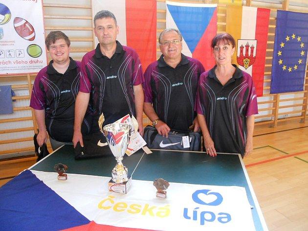 Stolní tenisté Lokomotivy reprezentovali Českou Lípu v Polsku.