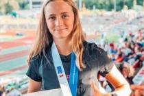 Atletka Kateřina Hadravová