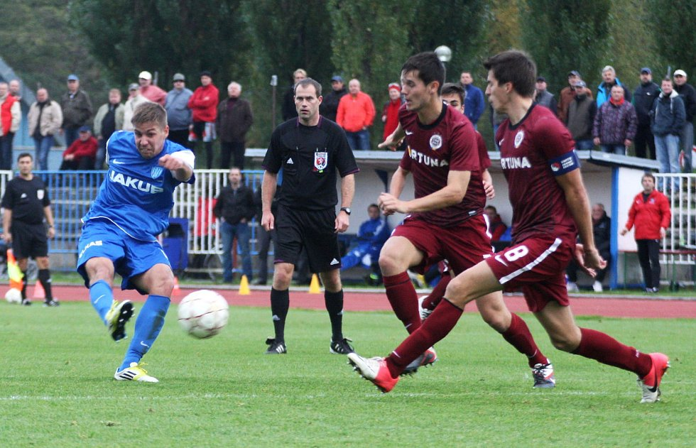 Arsenal Česká Lípa - Sparta Praha B 1:2 (1:0).