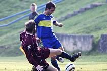 Fotbalová I. A třída: Mimoň – Harrachov 5:0.