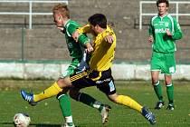 V jedenáctém kole divize se střetly týmy z dolní poloviny tabulky FK Litvínov - FC Nový Bor. Zápas skončil zaslouženou dělbou bodů.