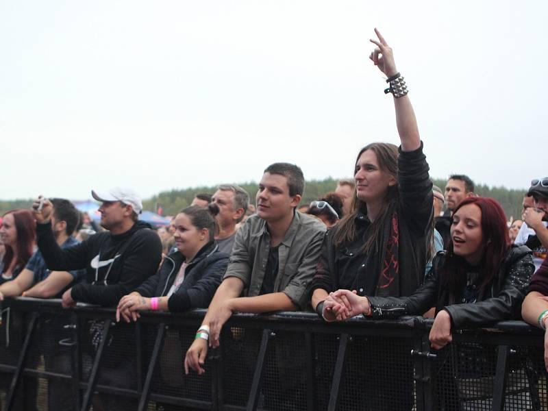 Úvodní den festivalu Hrady CZ na Bezdězu.