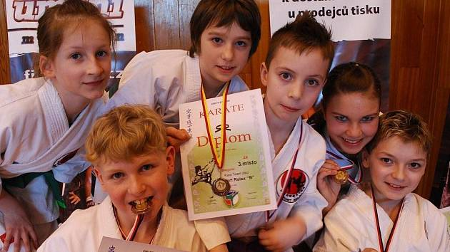 Mladší žáci vybojovali na prestižní akci první tři místa.