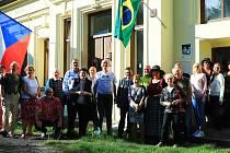 Osobnost brazilského prezidenta Juscelina Kubitscheka (1902–1976) připomněla oslava v Muzeu vystěhovalectví do Brazílie v Náhlově.