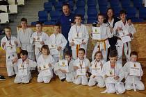 Judisté SK JUDO Nový Bor startovali na turnaji v Mladé Boleslavi.