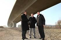 Ministr dopravy Pavel Dobeš navštívil Sosnovou.