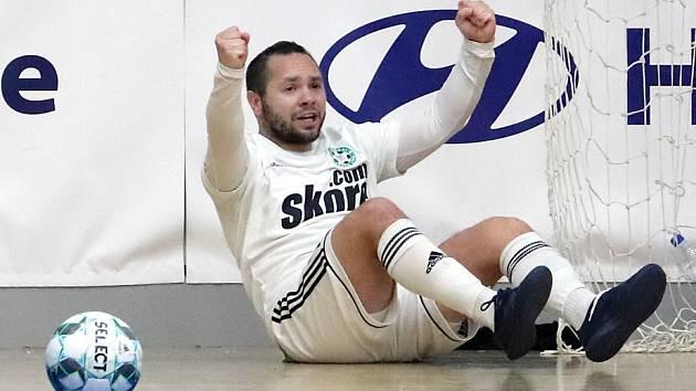 Petr Zapletal, futsalista českolipských Démonů.